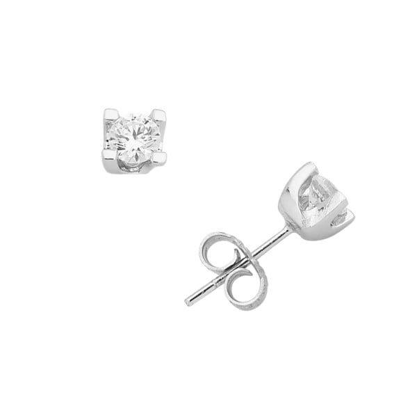 Χρυσα σκουλαρικια με πετρες Κ14