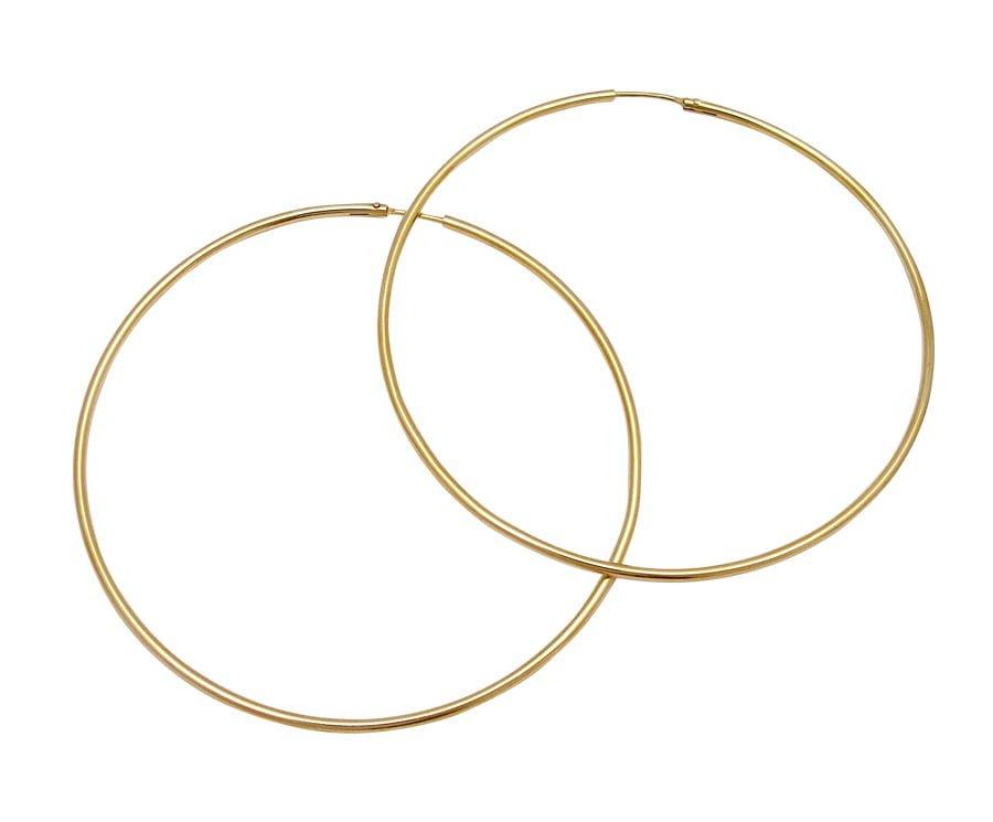 Χρυσα σκουλαρικια Κ14 κρικοι