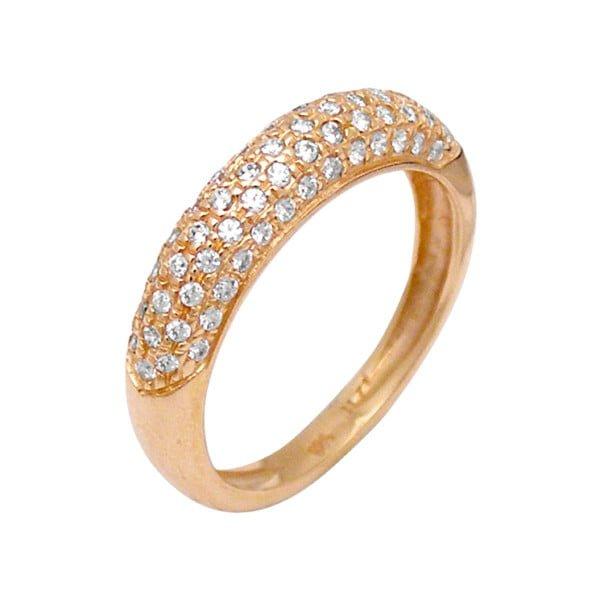 Χρυσο δαχτυλιδι Κ14 με πετρες